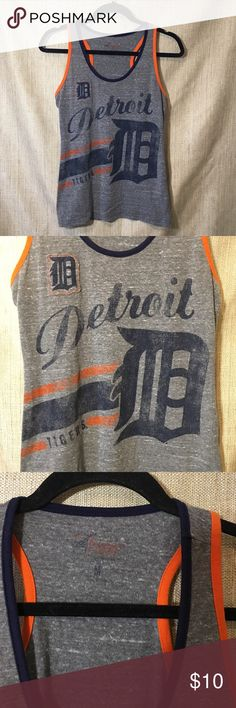Detroit Tigers Tank Cute tank in great condition! Size medium. 4Her Tops Tank Tops