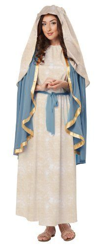 Saint joseph christmas nativity costume nativity costumes brown join the nativity in our virgin mary costume for women featuring a long off white robe attached cape and headpiece adult virgin mary costume is perfect solutioingenieria