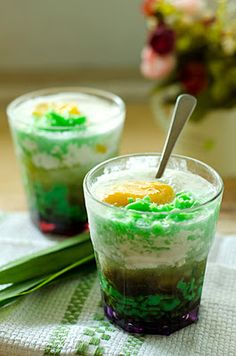 Now you can make your version of Cendol!