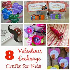Outnumbered 3 to 1: 8 #Valentines Exchange Crafts for Kids