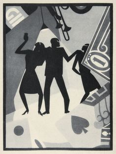 "Aaron Douglas, ""The Prodigal Son"" (1927) #art"