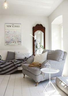 stripes at home