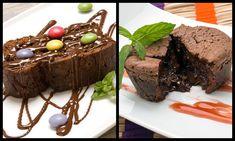 Brownie y Coulant de chocolate - Eva Arguiñano