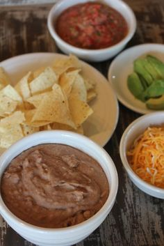 Homemade refried beans are easy to make and are delicious!