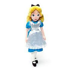 Alice im Wunderland - Stoffpuppe
