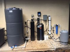 One of our most popular systems, the Whole House Reverse Osmosis system. The best Water system available for Home Water Filtration, Water Purification, Carbon Water Filter, Reverse Osmosis System, How To Make Drinks, Rainwater Harvesting, Water Storage, Water Treatment, Water Systems