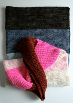 Whit's Knits: Super Easy LapBlanket - Knitting Crochet Sewing Crafts Patterns and Ideas! - the purl bee