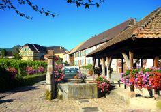 Hunawihr. Alsace.  France,