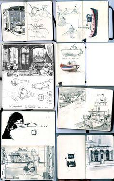 Laurie Stansfield - Sketchbook - http://www.folioart.co.uk/illustration/folio/artwork/sketchbook/