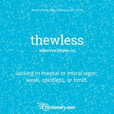 Thewless-