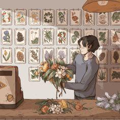 Inspiración de muro herbario