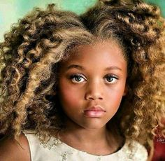 What a cutie! Tag the source if you know it and follow us on Pinterest for more natural haired baby kids!  #naturalhair #hair2mesmerize