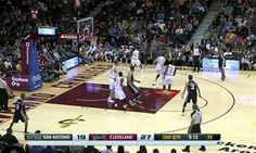 Spurs supera o Cavaliers e vence o 32º jogo seguido em casa