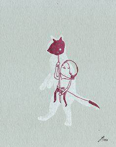 the cat returns by ghostpatrol, via Flickr