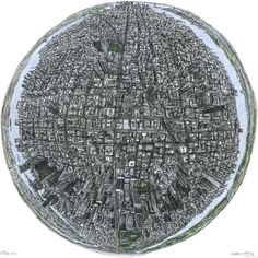 """mabelmoments:  Stephen Wiltshire the human camera: autistic artist draws city skylines from memory """"The aerial view can be difficult. The information is difficult to draw    because there is so much information with lots of windows, park areas and    buildings."""" Amazing. Click link for picture gallery."""