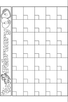 FREE BLANK MONTHLY CALENDARS {EDITABLE} - TeachersPayTeachers.com ...