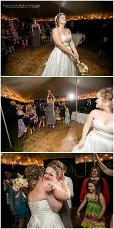 Bouquet toss at backyard wedding in Minnesota photographed by Twin Cities wedding photographer Jeannine Marie Photography #bouquettoss #rusticwedding #backyardwedding #Saintpaulweddingphotographer #jeanninemariephotgraphy