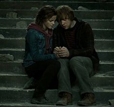 Ron and Hermione | Deathly Hallows