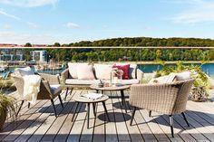 Loungeset VEBBESTRUP voor op je patio. Met je hele familie genieten van de zomer | JYSK