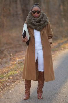 Oversize trench and scarf - StyleLust Pages