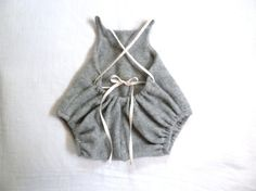 pure cashmere baby romper by harriet & daughters on etsy