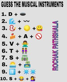 Emoji Challenge, Song Challenge, Emoji Games, Math Games, Emoji Puzzle, Guess The Emoji, Emoji Defined, Idioms And Phrases, Picture Puzzles