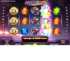 Výherní automaty Starburst - Zažít vzrušující dobrodružství při sázkách na výherním automatu Starburst! Každý, kdo si zahraje tuto hru na pěti válcích a deseti řádcích bude doslova oslepen žárem těchto drahých kamenů. #HraciAutomaty #VyherniAutomaty #Jackpot #Vyhra #Starburst