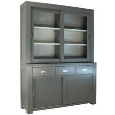 Royal design moderne tweedeurs buffetkast grijs [RD15G]