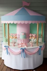 Be Different...Act Normal: Carousel Dessert Table