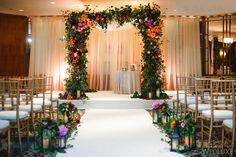 WedLuxe– A Vibrant Spring Wedding Filled with Colourful Blooms | Photography by: Blush Wedding Photography  Follow @WedLuxe for more wedding inspiration!