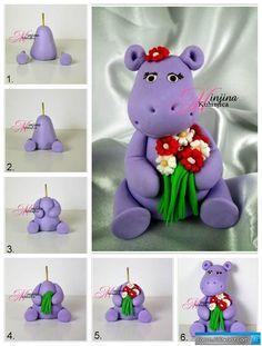 آموزش ساخت عروسک های خمیری   عروسک سازی - Page 6