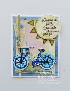 Bicycle card Two Paper Divas