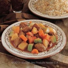 Vegetables with Lamb Stew- #Lebanese #Stew Recipe