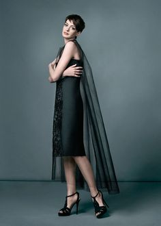 Anne Hathaway in the February 2013 issue