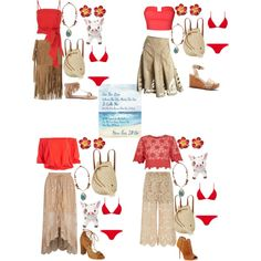 character day spirit week Shop this look. Design yours. Only on Fashmates. Princess Inspired Outfits, Disney Princess Outfits, Disney World Outfits, Disney Dress Up, Disney Themed Outfits, Disneyland Outfits, Disney Inspired Fashion, Disney Bound Outfits Casual, Moana Outfits