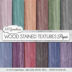 """Tinto legna carte """"legno tinto texture"""" tinto di carta ruvida in legno verde, viola, rosa, legno, pesca, viola, rosso e più"""