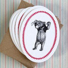 """Atelier Austin """"Animal Kingdom"""" Cards. $18"""