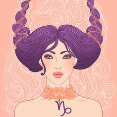 Paper - Signe astrologique Capricorne - Capricorn by Varvara Gorbash