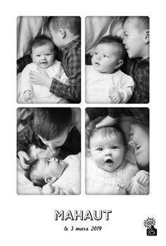Quatre instants de vie captés sur le papier, tel est l'esprit de ce faire-part de naissance Instant photos. Vos proches découvriront avec bonheur les ...