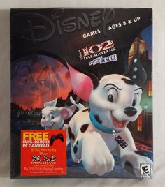 Disney's 102 Dalmations - Puppies To The Rescue - Windows 95/98 - CD-Rom PC Game #vintagephilly