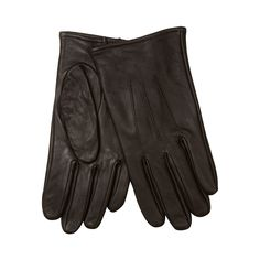 These simple yet stylish gloves from The Collection are perfect for teaming with smart-casual wear during the colder days. In genuine brown leather, they feature embossed details and a cosy fleece lining.