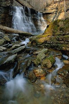 Clifty Falls State Park in Madison, Indiana.