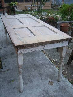 68 Trendy Ideas Old Door Table Diy Awesome
