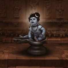 No photo description available. Shiva Art, Krishna Art, Hindu Art, Shiva Tandav, Bal Krishna, Lord Murugan Wallpapers, Lord Krishna Wallpapers, Lord Ganesha Paintings, Lord Shiva Painting