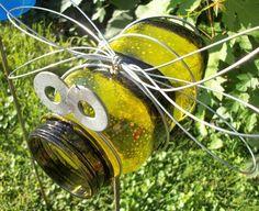 Bumble bee craft - mason jar