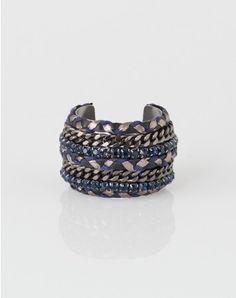 1.2.3 Paris - Les accessoires automne hiver 2014 - Bracelet manchette Kelly 59€ #123paris #mode