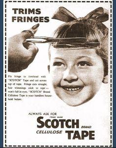 Trimming fringe?!  So many uses!  Haha.
