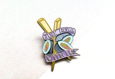 Just Roll With It Enamel Pin | Honey & the Hive