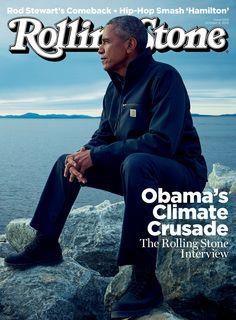 Barack Obama on the October 8, 2015 cover.
