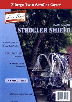 X-large Twin Stroller Cover. X-large Twin Stroller Cover .